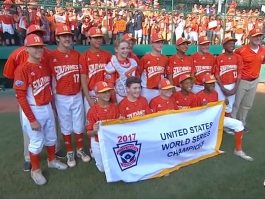Lufkin Little League All Stars Image CBS19 Tyler TX