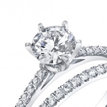 Classic 6 Prong Engagement Ring