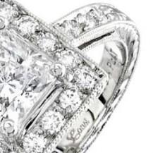Classic Platinum Engagement Ring