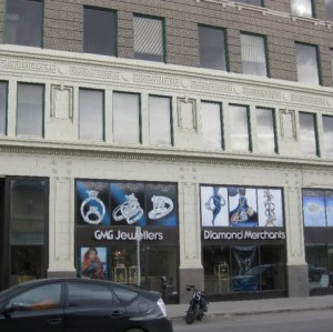 GMG Jewellers Saskatoon, SK storefront