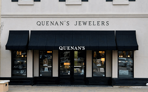 Quenan's Fine Jewelers Georgetown, TX storefront