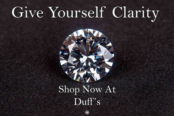 Give Yourself Clarity Shop Now at Duff's Fine Jewelry Dallas area