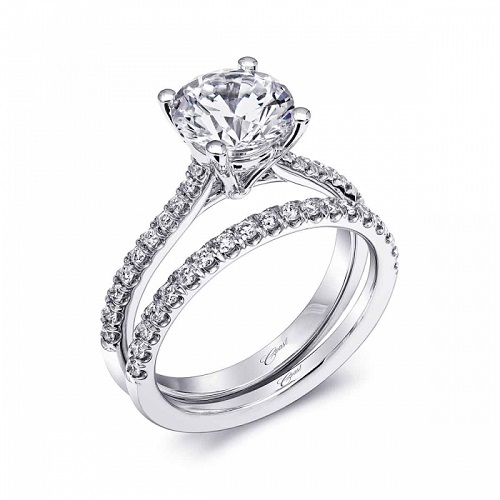 Coast Diamond 2CT diamond solitaire wedding set LC10020
