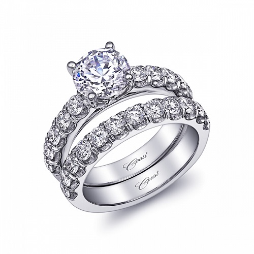 Coast Diamond prong set engagement ring (LJ6033)