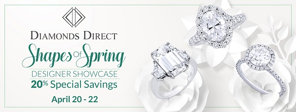 Diamonds Direct Indianapolis Shapes of Spring Designer Showcase April 2018