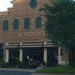 Roberson's Fine Jewelry Little Rock AR storefront