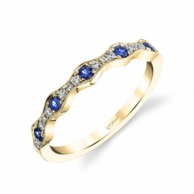 Coast Diamond sapphire fashion ring WC7040-S yellow gold