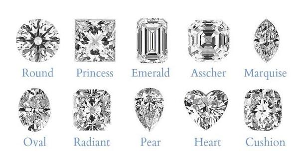 Diamond Shapes Nederland Jewelers