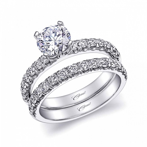 Coast Diamond 1 carat solitaire engagement ring LS10005