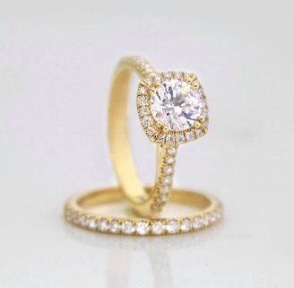 Coast Diamond halo engagement ring charisma collection