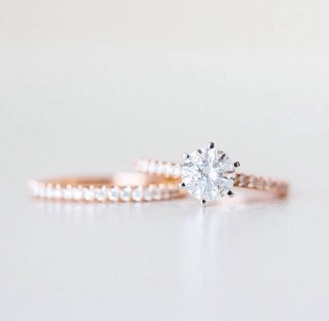 Coast Diamond traditional 6 prong solitaire engagement ring Charisma Collection