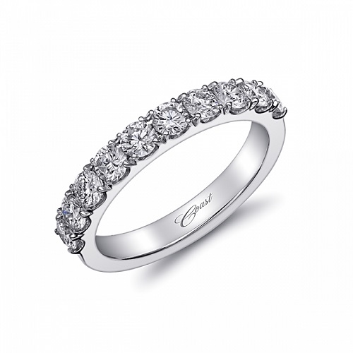 Coast Diamond 1 carat round brilliant diamond band WS20000