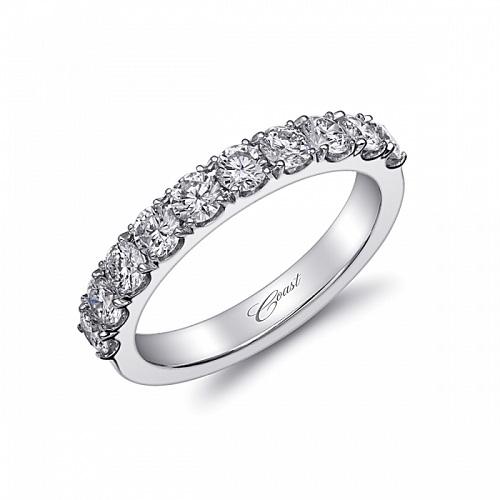 Coast Diamond 1 carat round brilliant diamond band WS20000