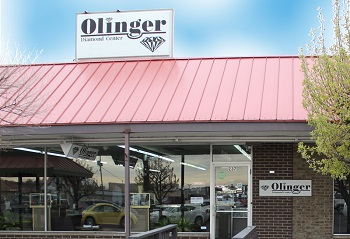 Olinger Diamond Center Jasper, IN storefront
