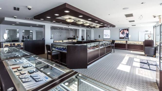 Quest Fine Jewelry Interior