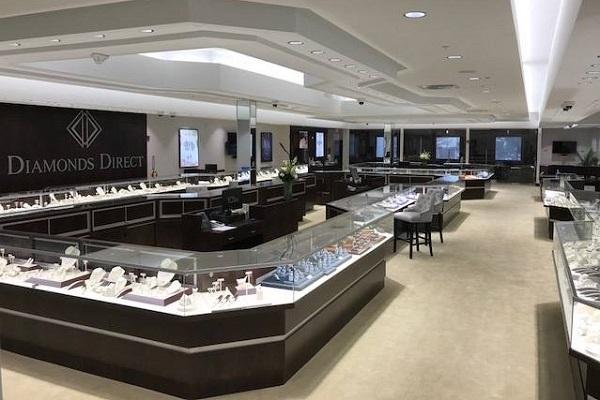 Diamonds Direct Columbus OH showroom 2