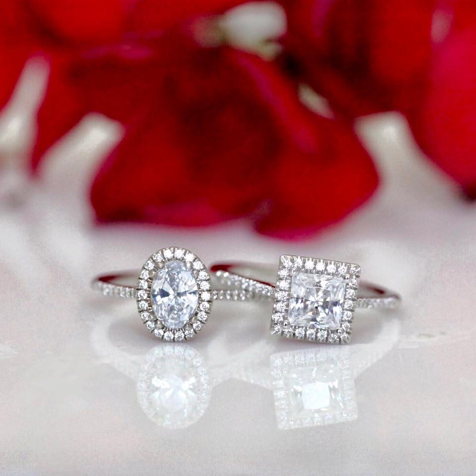 Personalize Your Coast Diamond Halo Engagement Ring at Grebitus Jewelers of Sacramento