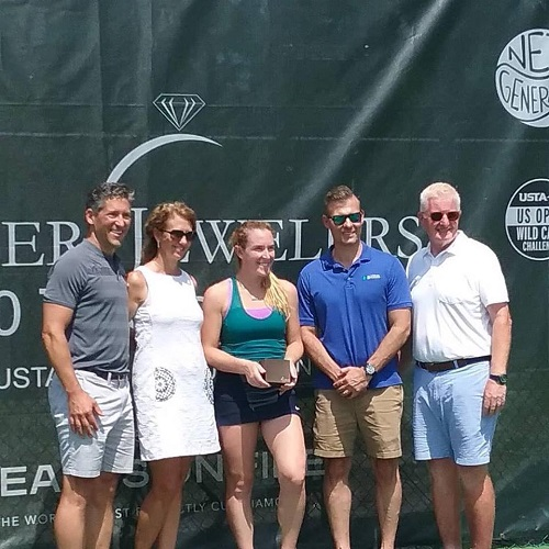 Koser Jewelers $60000 Tennis Challenge Champion Madison Brengle