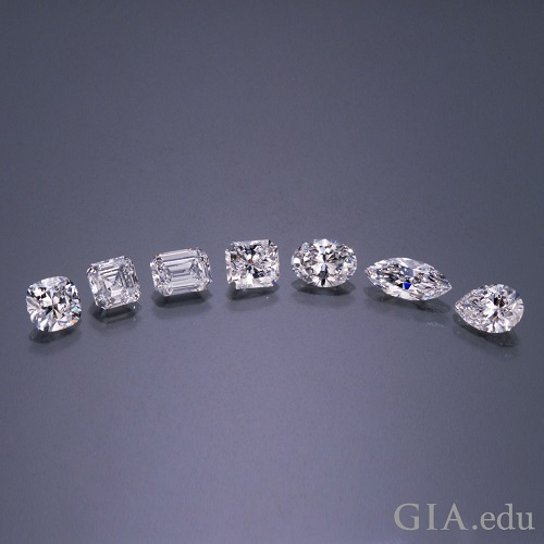 Diamond Cuts GIA