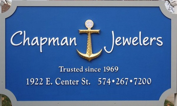 Coast Diamond retailer of the week Chapman Jewelers Warsaw IN