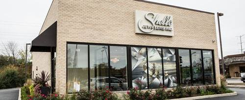 Shelle Jewelers Northbrook, IL storefront