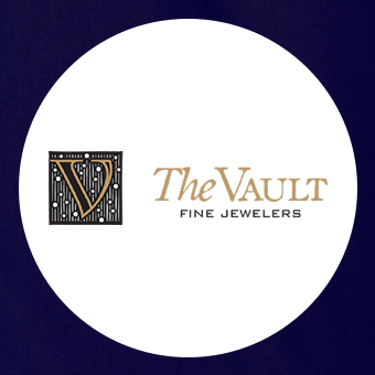 The Vault Fine Jewelers Fresno CA logo