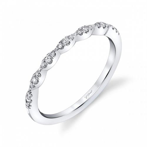Coast Diamond scalloped band WC6101