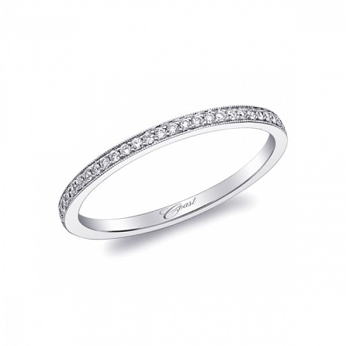 Coast Diamond band WC5191H 0.08 tdw