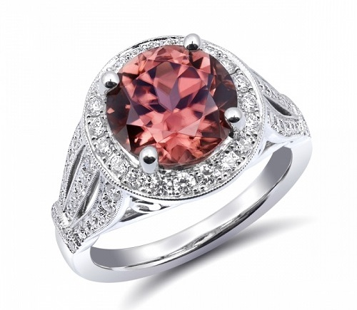 Coast Diamond Signature Color Collection Ring LCK8003-ZIR marsala