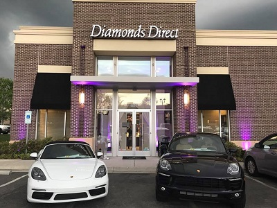 Diamonds Direct Richmond Storefront