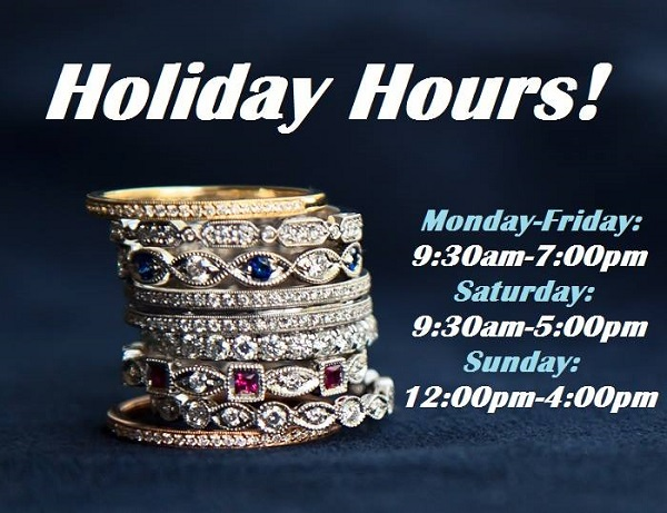 Will Jewelers Fort Wayne IN Holiday hours 2018