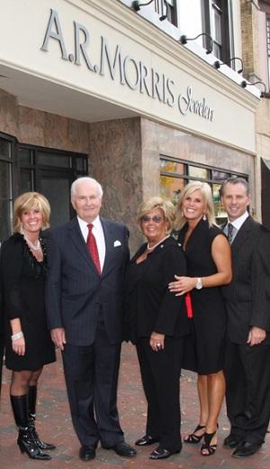 Al Morris and the A.R. Morris family
