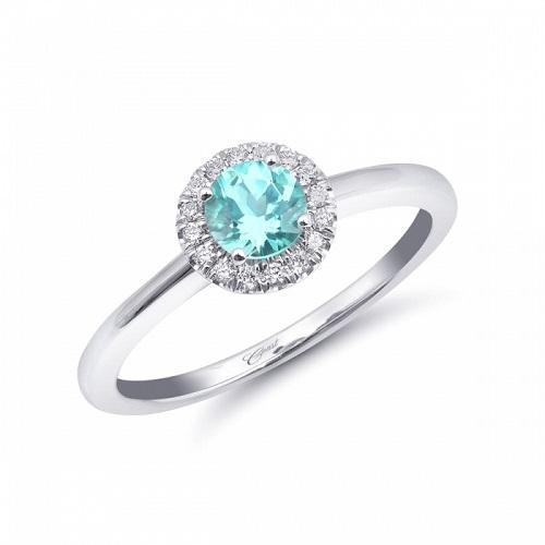 coast diamond paraiba halo ring (lck20114-par) rare