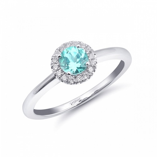 coast diamond paraiba halo ring (lck20114-par) rare