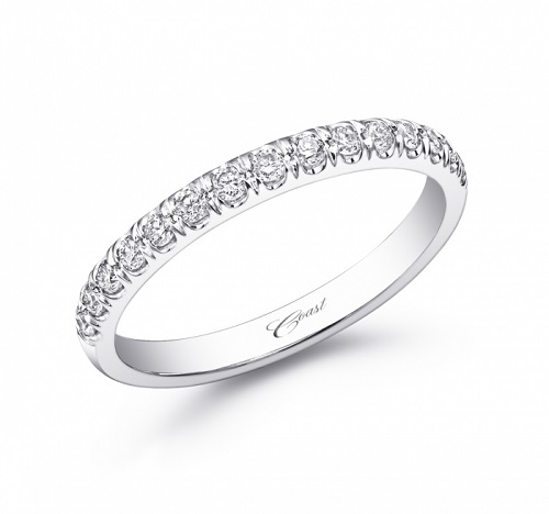Coast Diamond 0.28 ctw wedding band WC5257