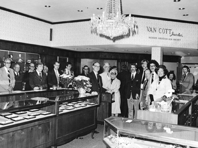 Van Cott Jewelers Southern New York history
