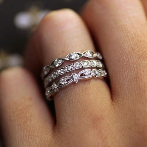 Coast Diamond eternity bands LC2012A, WC10155H, WC7086H
