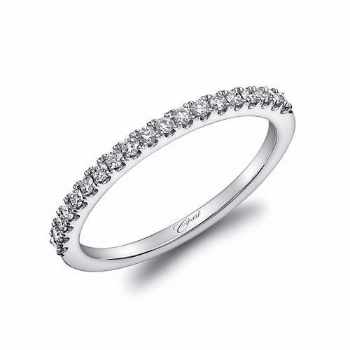 Coast Diamond band WC20012 0.20 ctw microprong-set round diamonds
