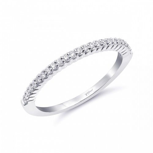 Coast Diamond scalloped fashion band WC20046 milgrain