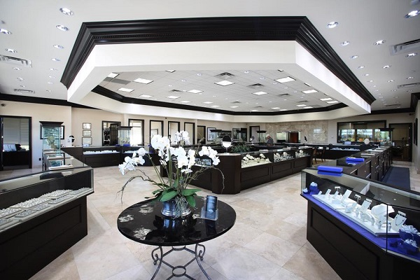 Coast Diamond Retailer of the Week Beard's Jewelry Jacksonville, FL interior
