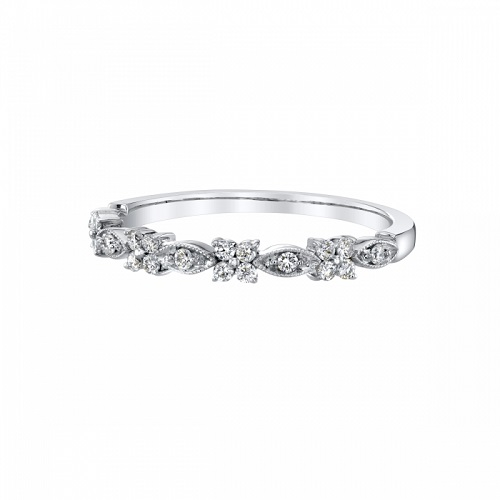 Coast Diamond fashion band WC10375H Artfully created floral and marquise shaped diamond band