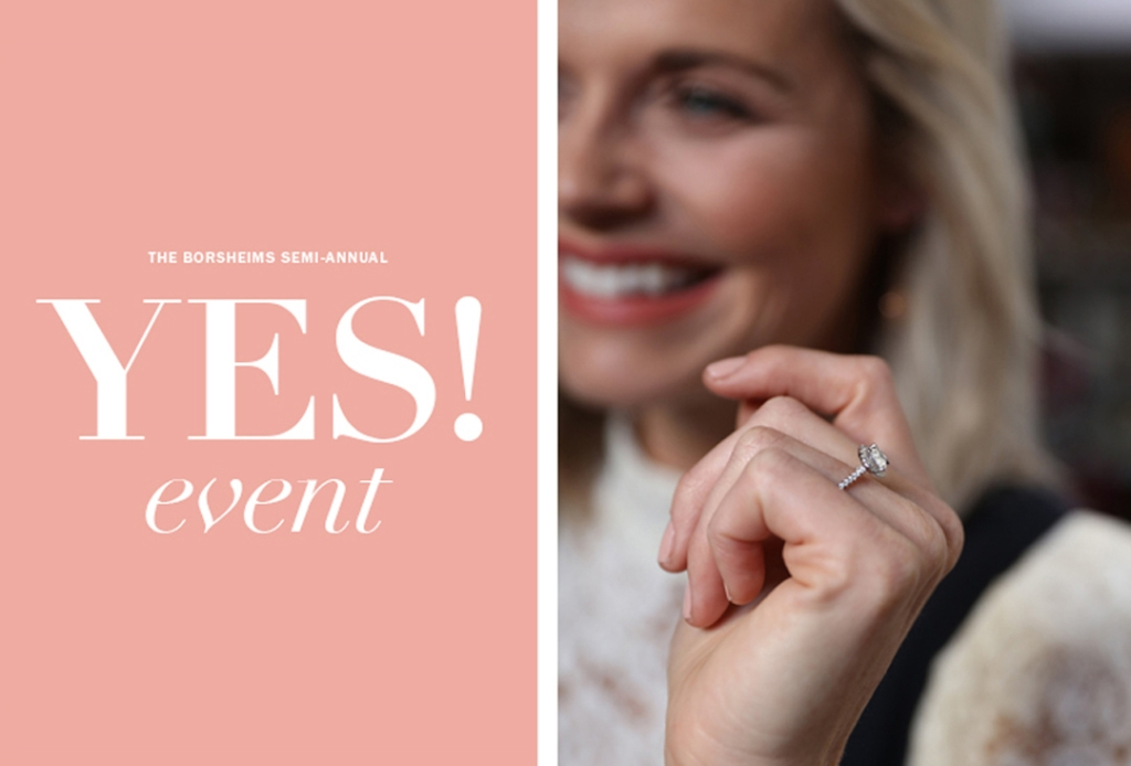 "BORSHEIMS ""YES! EVENT"" 