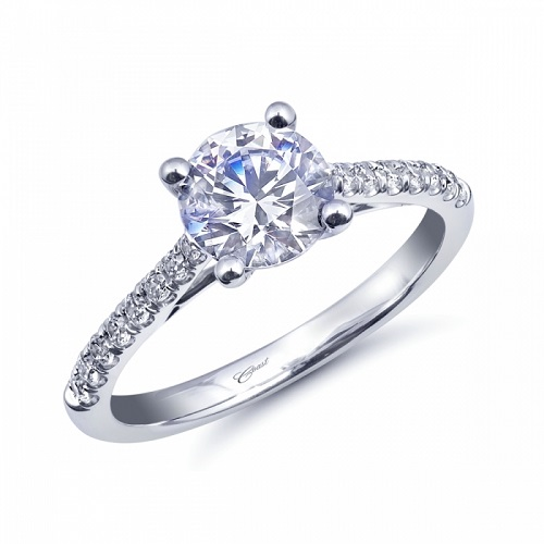 Coast Diamond engagement ring LC10315 diamonds in the gallery