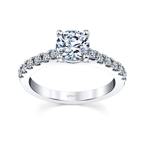 Classic Coast Diamond 1 CT engagement ring LC20015