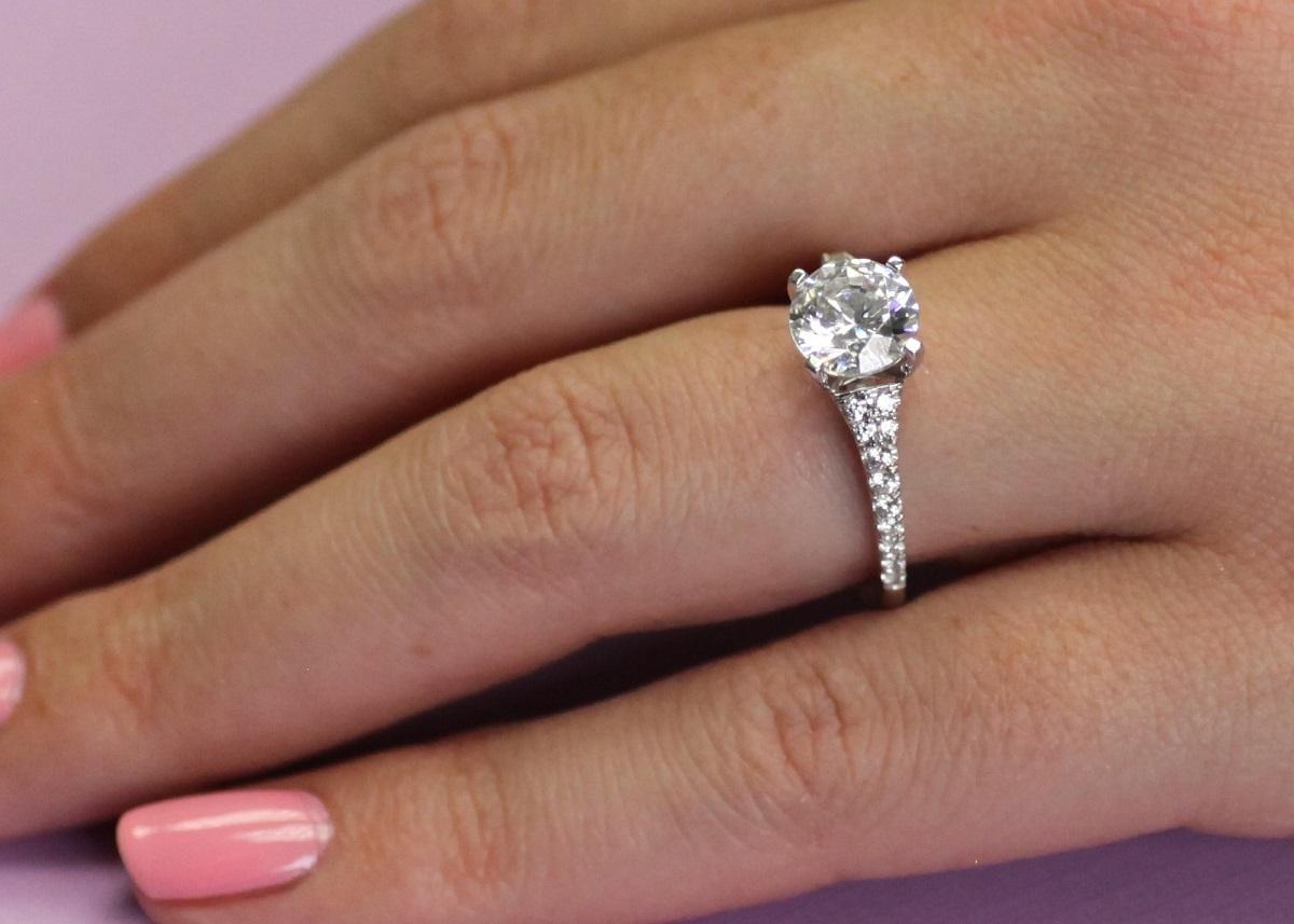 3 Classic Coast Diamond Rings From Hannoush Jewelers in Albany, NY