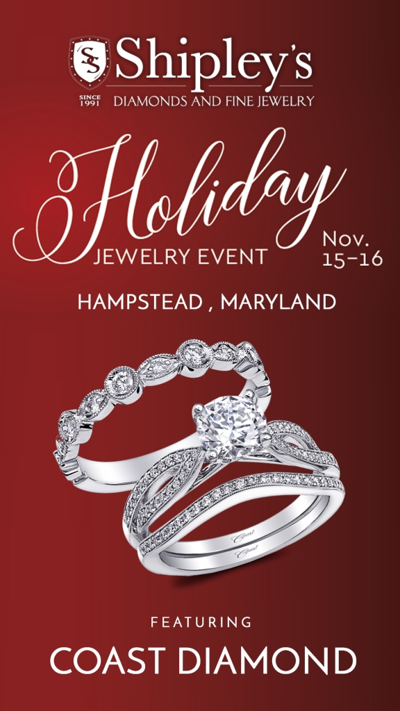 Shipley's Fine Jewelers Holiday Event featuring Coast Diamond