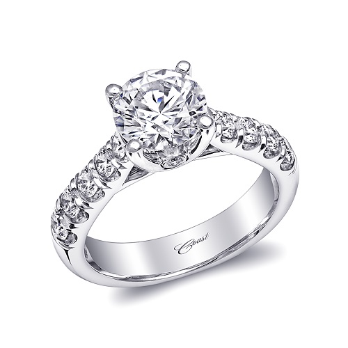Coast Diamond 1.5 CT engagement ring LZ5007H-1