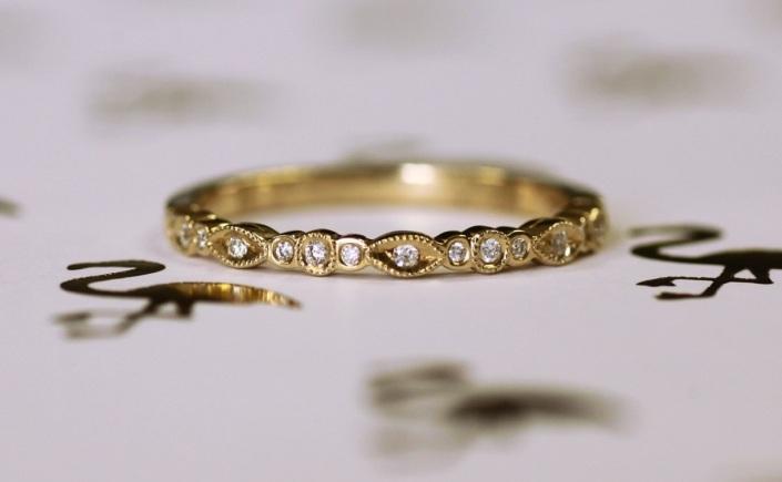Coast Diamond yellow gold diamond fashion band WC30094H-YG