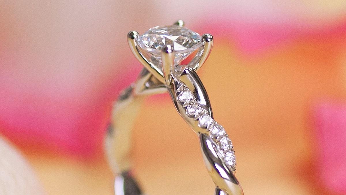 Two Unique Coast Diamond Engagement Rings at Munn's Diamond Gallery of Lemoyne, PA