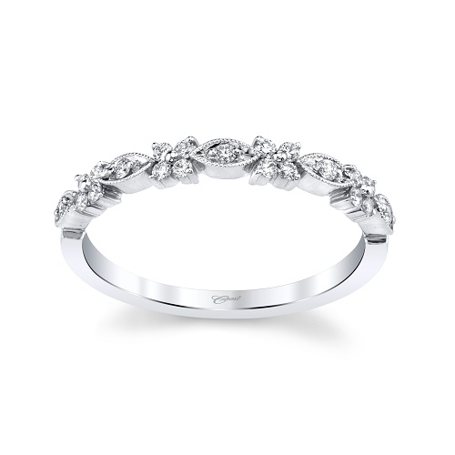 Coast Diamond stackable band WC10375H